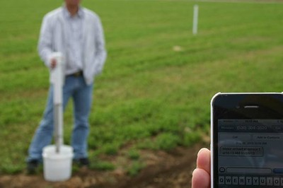 Smart phone for ag research
