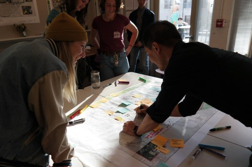Students, staff and faculty gathered at a recent workshop to envision the future of the SLLC.